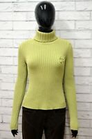 Maglione REPLAY COLLECTION Donna Taglia Size XL Cardigan Pullover Sweater Verde