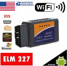 ELM327 WiFi OBD2 OBDII Car Engine Fuel RPM Diagnostic Scanner Code Reader Tool