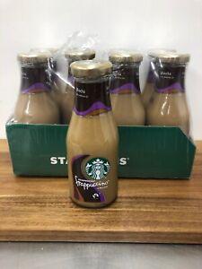 Starbucks Frappuccino Mocha Chocolate Coffee Drink 8 Bottles 8 X 250ml Chilled