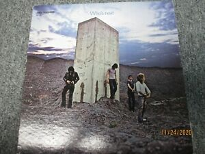 The WHO-Who's Next-1980 MCA Stereo LP-MCA-1691-Plays Great VG+