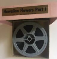 Kodak 16mm Film Hawaiian Flowers Part 1 Mid Century Vintage Color