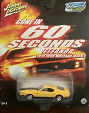 Johnny Lightning Hollywood on Wheels Gone in 60 Seconds - Eleanor 1973 Ford Mus