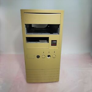 Vintage mid tower case for 386 or 486 computers AT New World Pentium