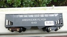 American Flyer 640 Gray Hopper Car S Gauge 1949-52