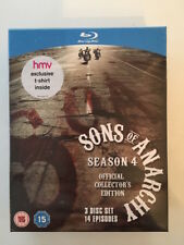 Sons Of Anarchy Complete Season 4 (Blu-ray BoxSet Inc.T-Shirt) - NEW and SEALED