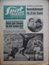 SPORT MAGAZIN KICKER 10 A - 7.3. 1966 Gladbach-Bayern 5:2 Schalke-Bremen 1:6