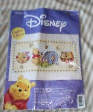 Disney Pooh & Friends Butterflies Limited Edition Cross Stitch Kit AE Craft