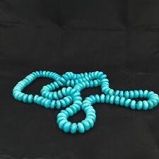 BARSE Beaded Turquoise Magnesite Long Necklace NWOT 36""