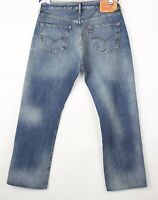 Levi's Strauss & Co Hommes 501 Jeans Jambe Droite Taille W36 L32 BBZ248