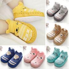 Jungen Mädchen Babyschuhe Antirutsch Schuhe Kinder Hausschuhe Krabbelschuhe Neu