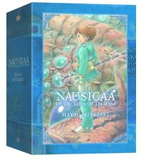 NAUSICAA OF THE VALLEY OF THE WIND HARDCOVER BOX SET GN Manga Complete Series HC