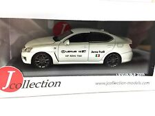 LEXUS IS-F Nurburing Taxi ( Jarno Trulli ) - 1/43 IXO VOITURE DIECAST - JCL101