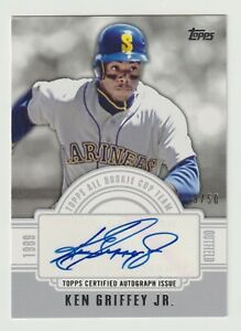 🎆2014 TOPPS KEN GRIFFEY JR. AUTOGRAPH 39/50 NM TOPPS CERTIFIED AUTOGRAPH ISSUE