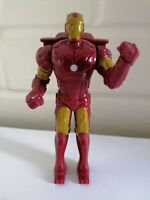 """2007 Marvel IRON MAN Action Figure Toy With Punching Action - Burger King 4.5"""""""