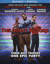 NEW!!! Joseph Gordon-Levitt, Seth Rogen, The Night Before (Blu-ray Disc, 2016)