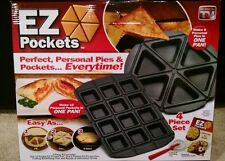 EZ Pockets Pans  As Seen On Tv   Brand New  Free  Shipping !!
