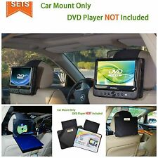 portable dvd player kids car headrest mount dvd tv portable adjustable 2 pieces