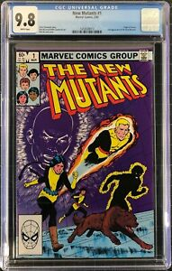 New Mutants #1, CGC 9.8 - Copper Age Grail - NO RESERVE