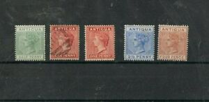 ANTIGUA  - Lot of old stamps