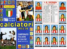 NEW-EDICOLA R@RE FIGURINE CALCIATORI PANINI 1973//74-SCEGLI DAL MENU/' A TENDINA