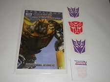 SDCC TRANSFORMERS Exclusive COMIC & Promo items Comic-con 2013