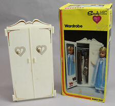 VINTAGE SINDY WARDROBE IN BOX MARX TOYS DOLL SET FURNITURE 1978 ADD 2 COLLECTION