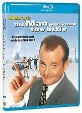THE MAN WHO KNEW TOO LITTLE (Bill Murray) -  Blu Ray - Sealed Region free