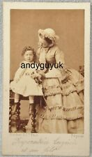 CDV EMPRESS EUGENIE PRINCE NAPOLEON IMPERIAL FRANCE DISDERI ROYALTY PHOTO