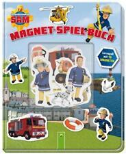 Feuerwehrmann Sam Magnet-Spiel-Buch