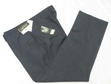 $95 NWT Mens Ralph Lauren Neat Pindot Flat Front  Dress Pants Navy 42x30 42 M793