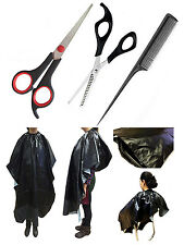 Magik Hair Cutting Scissors Shear Thinning Set + Salon Hairdressing Gown Cloth