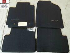 NEW OEM TOYOTA CELICA 2001-2005 CHARCOAL (BLACK) CARPET FLOOR MATS 4-PEICE SET