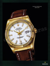 ROLEX Oyster Perpetual Datejust mens watch advertisement A4 size HQ print