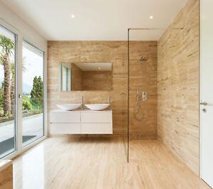 Walk-In Dusche Duschwand Duschabtrennung ESG Glas Duschkabine 200cm Höhe