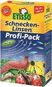 Etisso Schnecken Linsen 1kg Profi Power-Packs Schneckenkorn