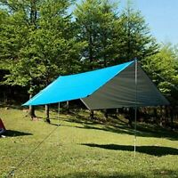 Outdoor Sun Shelter Tent w/ Carring Bag Ground Stakes Ropes For BBQ Party Beach
