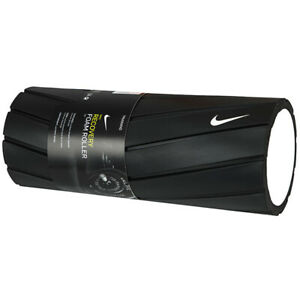 """Nike Textured 13"""" Recovery Foam Roller Black AC4077-027"""