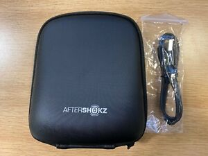 Aftershokz Official Hard Case & Charge Cable.