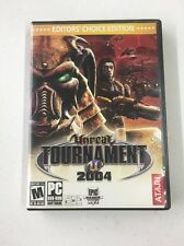 Unreal Tournament 2004: Editor's Choice Edition with Key Code (PC, 2004) Tested