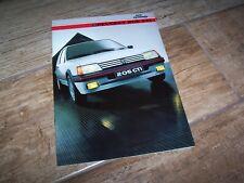 Catalogue /  Brochure PEUGEOT 205 GTI 1985  //