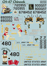 Print Scale 48-043 Decal for Ch-47 Chinook - 1/48 scale