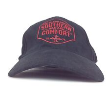 New Orleans Original Southern Confort Black Baseball Cap Hat Flex Fit Sm-Med Sz