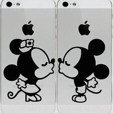 Mickey Minnie Kissing Apple iPhone 6 iPhone 5 5s Vinyl Decal Sticker Skin