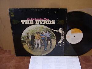 BYRDS - MR TAMBOURINE MAN CBS/SONY SONP 50183 Japan LP US 60s PSYCH FOLK ROCK