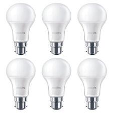 6 x Philips 8W = 60W CorePro LED GLS A60 BC/B22 Blanc Chaud 2700k givré Ampoule