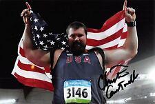 Christian Cantwell - USA - Leichtathletik - Olympia 2008 - SILBER - Foto sig (2)