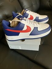 "Nike Men's Air Force 1 'USA INDEPENDENCE DAY"" Americana SIZE 12 100%AUTHENTIC"