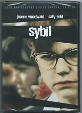 Sybil  DVD (2 Disc Special Edition Sally Field) New & Sealed Region 1 Free Post