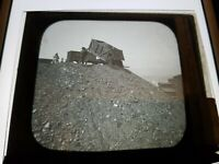 Antique Glass Negative Photo Miners CULM DUMP COAL BREAKER SCRANTON PA