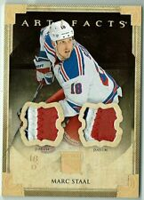 2013-14 Upper Deck Artifacts Dual Patch Memorabilia, Marc Staal, 10/15